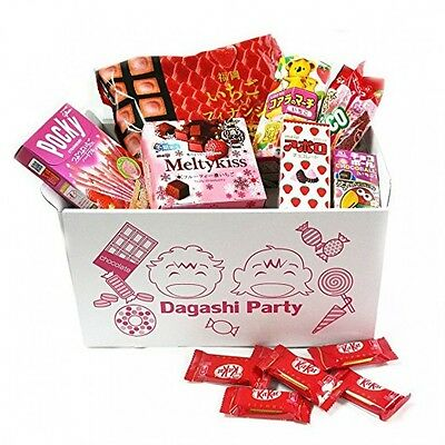 Assorted Japanese Strawberry Flavor Junk Food Snacks From Japan