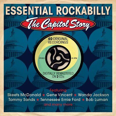 Various Artists - Essential Rockabilly (The Capitol Story, 2013) [BRAND NEW]