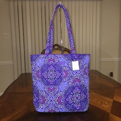 NWT Vera Bradley Tote In Lilac Tapestry