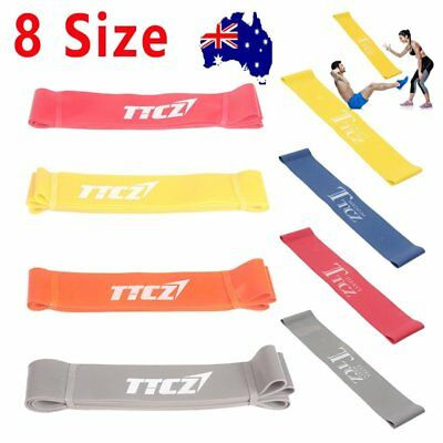 Heavy Resistance Band Yoga Tension Rope Fitness Stretch Door Loop Gym Abs AU