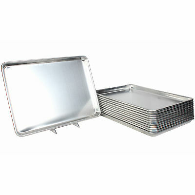 "Restaurant Essentials Set of 12 Full Size Sheet/Baking Pans 18"" x 26"""