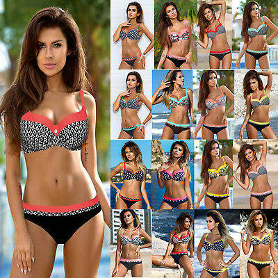 Sexy Women's Bikini Set Push-up Padded Bra Swimsuit Bathing Suit Beach Swimwear