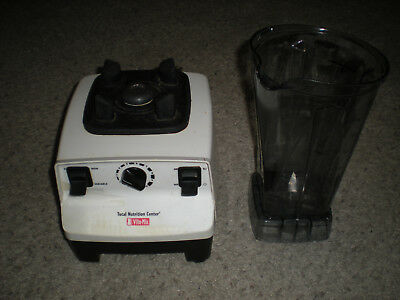 VITAMIX VM0103 Commercial Blender Total Nutrition Center 10 Speed PLEASE READ