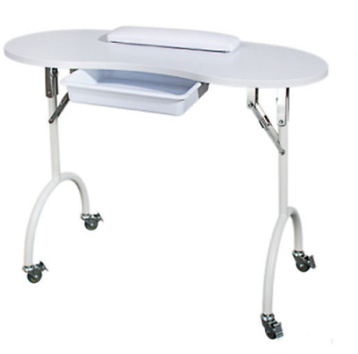 Portable Manicure Table with Carry Bag Nail Student or Mobile Professional Nails