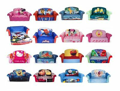fold out couch for kids. Sofa Kids Bed Flip Open Chair Fold Out Couch Lounger Children Toddler Furniture For