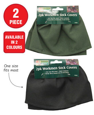 Gardeners Boot Protectors Sock Savers Home Water Resistant Work Boot Covers NEW