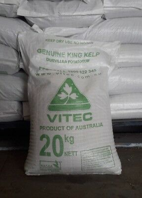 ORGANIC SEAWEED MEAL  KING Island  20Kg Iodine rich Dogs Horse Goat Cattle Sheep