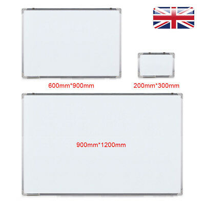 Large Magnetic Dry Wipe Whiteboard Notice Memo Board Office Meeting