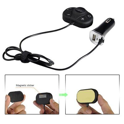 Car Bluetooth FM Transmitter Handsfree Call TF Card Music Player USB Charger FK