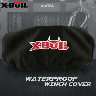 X-BULL Waterproof Winch Cover Soft Dust Cover Fit 9500-13000LBS Winch Accessory