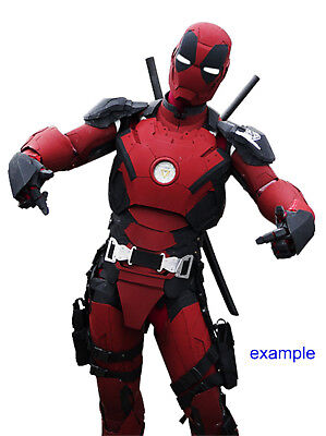 100 USD discount coupon for Iron Deadpool wearable costume