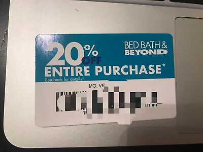 Bed Bath & and Beyond Coupon 20% OFF ENTIRE - In Store or Online Exp 3/01/18