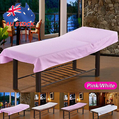 190 x70cm Beauty Massage Bed Table Elastic Cover Salon Spa Couch Cotton Sheet