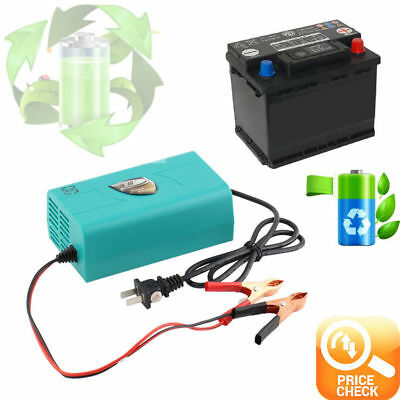 12V Battery Automatic Charger Motorcycle Car Boat Marine Maintainer Trickle F7