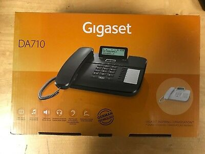 SALE Gigaset Siemens DA710 DA 710 IP VOIP Black Phone NIEUW Good condition