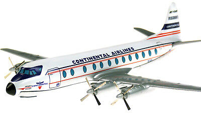 Continental Airlines Vickers Viscount 812 N241V, Die-Cast Modell, M 1:144, Corgi