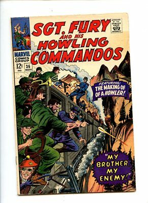 Sgt. Fury and his Howling Commandos #36 (1966) VG
