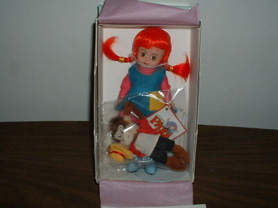 MADAME ALEXANDER DOLL PIPPI LONGSTOCKING 25975 NEW IN ORIGINAL BOX w/ PAPERS