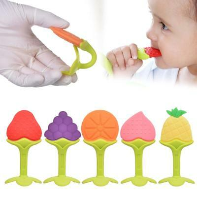 Lightweight Teeth Stick Teether Chew Toy For Kids Silicone Food Feeder HY #J