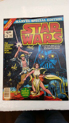 STAR WARS #1 (1977) Marvel Comics Special Edition.  Never Sold, Never Read