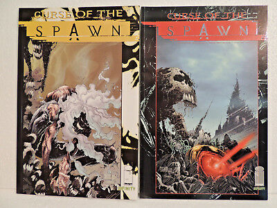 2 Fantasy & Mystery Comics Z1 Curse of the Spawn Image Infinity Nr. 11, 12