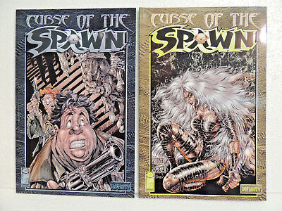 2 Fantasy & Mystery Comics Z1 Curse of the Spawn Image Infinity Nr. 3, 4
