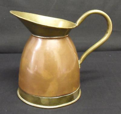 Antique Brass & Copper Jug