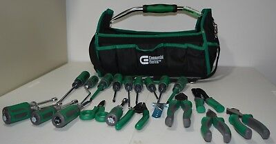 Commercial Electric Electrician's Tool Set Complete 22 pieces w/ deluxe bag kit