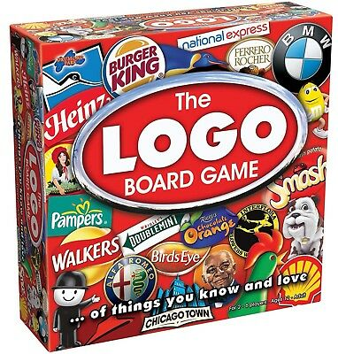 Drummond Park The Logo Board Game 2-6 Players Ages 12+  Brand New & Sealed