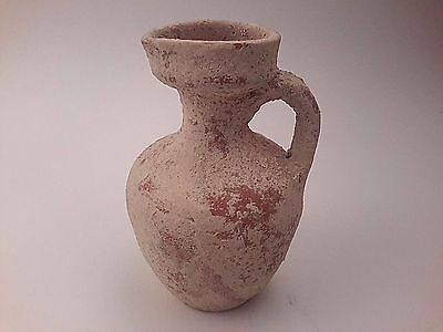 Ancient Roman Terracotta Juglet Pottery