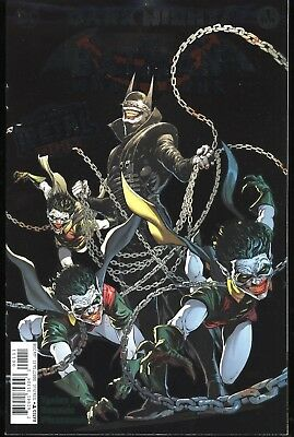 Dark Nights The Batman Who Laughs #1 Metal Tie In Foil Cover 1st First Print DC