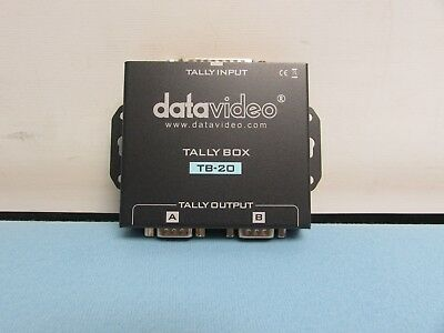 DataVideo Tally Box TB-20. Condition Good. Pre-Owned.