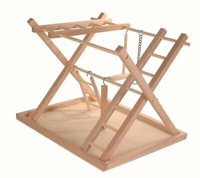 Trixie Wooden Playground Wood Budgie Play Stand Pet Furniture 36 x 26 x 29 cm