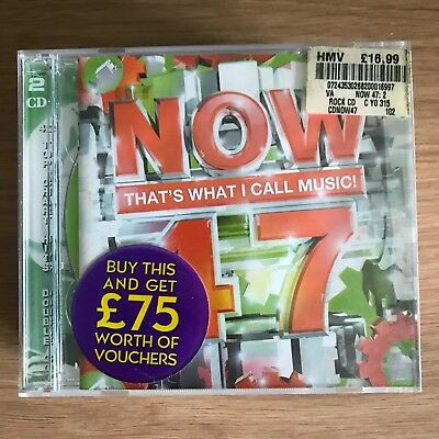 Now That's What I Call Music Vol.47 (2000) Chart Pop Compilation CD