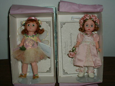 Madame Alexander Dolls Flower Girl 22620 Rose Fairy 22640 New In Boxes