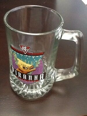 BJ's PIRANHA Pale Ale American- Style Ale ~ Collectible Beer Mug