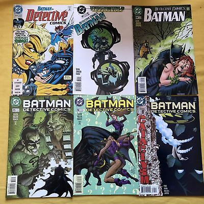 Lot of 12 Detective Comics (1937 1st Series) from #624-844 VF Very Fine