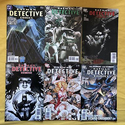 Lot of 12 Detective Comics (1937 1st Series) from #806-860 VF Very Fine