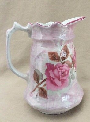 James Kent LTD Staffordshire Old Foley Small Pitcher Creamer With Roses