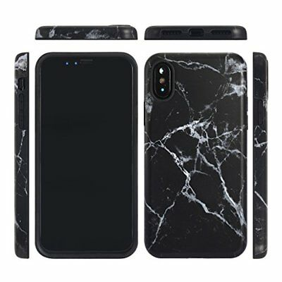 iPhone X Case/iPhone 10 CaseGOLINK Marble Series Slim-Fit Ultra-Thin Anti-Scr...