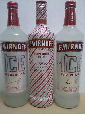 Smirnoff Peppermint Twist Limited Edition und Smirnoff ICE Vodka Mixed Drink