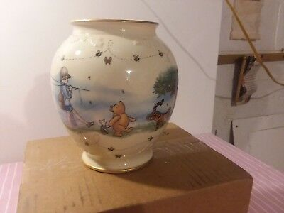 Winnie the Pooh & Friends THE HONEY POT Vase, 7in (images of Pooh & Friends)