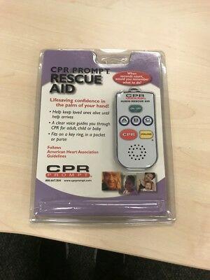 CPR Prompt Compliment Remote CPR Training Rescue Aid, Model CPR200