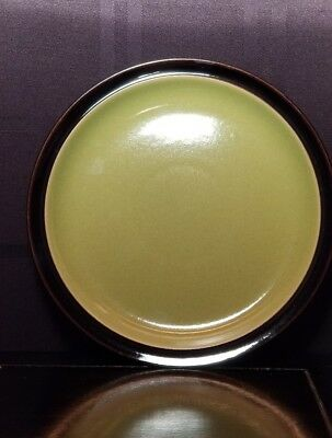 """Denby """"Duets Green & Black"""" Salad Plate (Mint Condition)"""