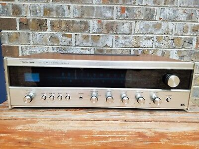 Realistic AM/FM Stereo Receiver STA-77 w/ Blue Lights Cleaned TESTED