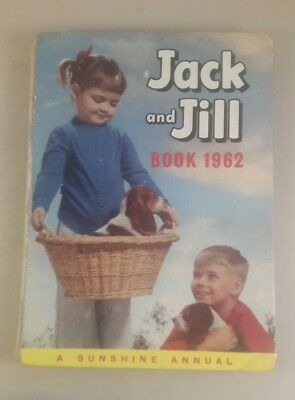 jack and jill annual 1962 - vinatge annual jack and jill book 1962