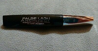 Loreal False Lash Architect 4D Black Schwarz Lacquer Mascara Wimperntusche