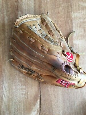 Rawlings Arch Baseball Softball Basket Web Left Hand Glove RSG1 Super Size