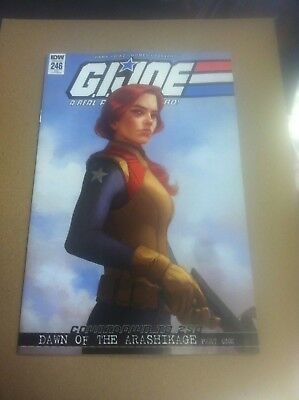 G.i Joe Real American Hero #246 Yesteryear Mercado variant.First printing.