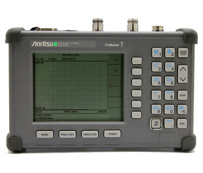 ANRITSU S251C  625MHz-2.5 GHz Cable & Antenna Analyzer